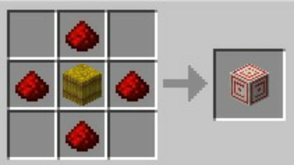 Minecraft-Zielblock