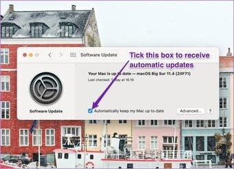 Mac erhält automatische Updates