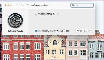Mac nach Systemupdates suchen
