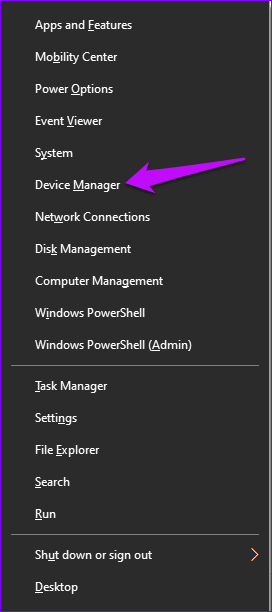 Gerätemanager Windows 10