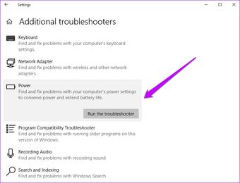 Windows Führen Sie die Problembehandlung aus
