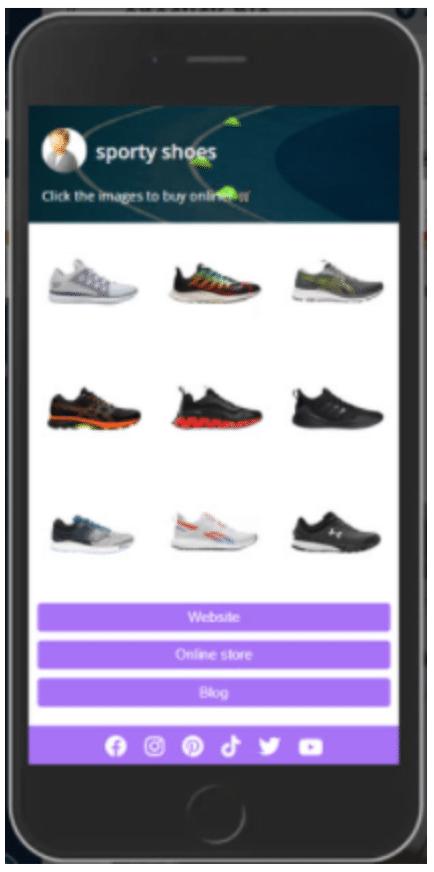 oneclick-bio Bilder von sportlichen Schuhen