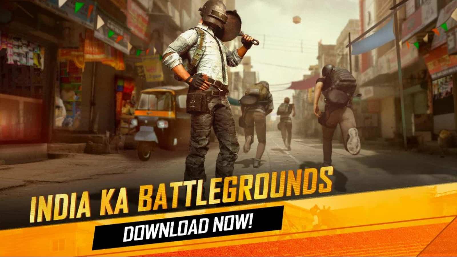 Battlegrounds Mobile India ermöglicht Datenübertragung
