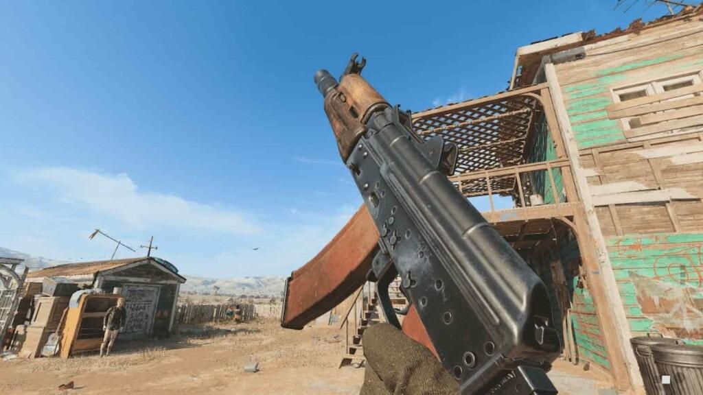 Bestes ak74u-Loadout in Call of Duty Warzone