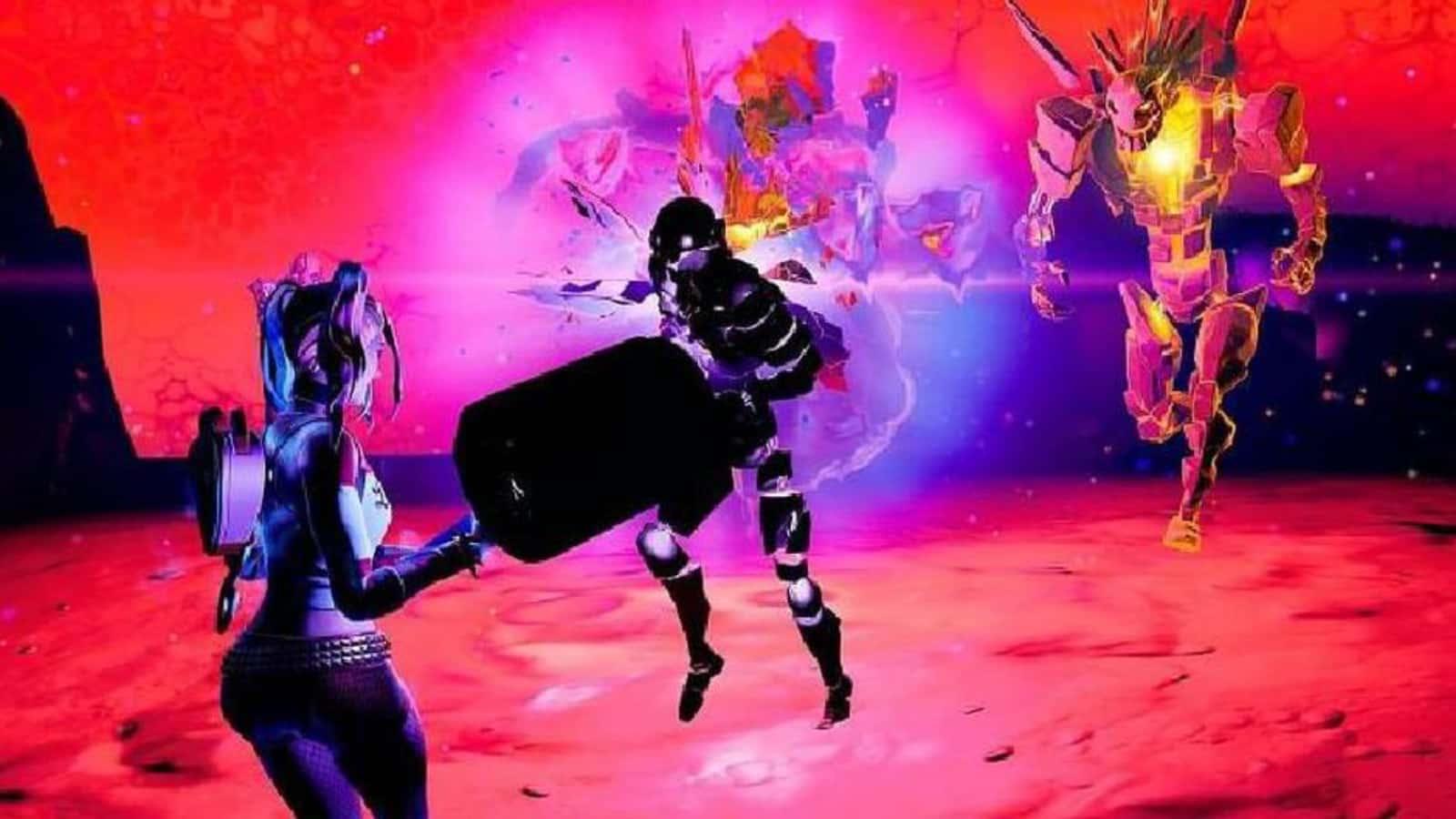 So eliminieren Sie Fortnite Cube Monsters in the Sideways in Season 8