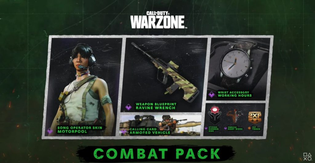Call of Duty: Warzone und Black Ops Cold War Season 6 Combat Pack